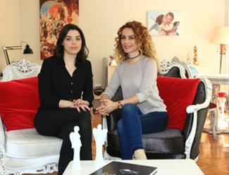 Pınar Özer ve Yağmur Ağcaoğlu